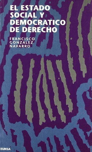 9788431312039: El estado social y democratico de derecho (Spanish Edition)