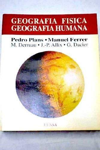 9788431312497: Geografía física, geografía humana