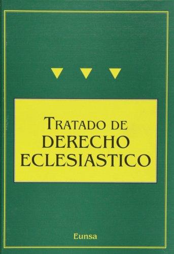 TRATADO DE DERECHO ECLESIÁSTICO.: UNIVERSIDAD DE NAVARRA.