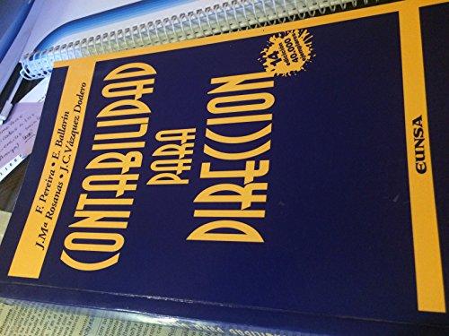 9788431314972: Contabilidad para dirección (Colección Manuales IESE)