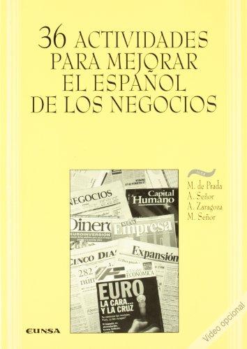 9788431316341: 36 actividades para mejorar el español de los negocios (Aula exterior de lengua y culturas españolas)