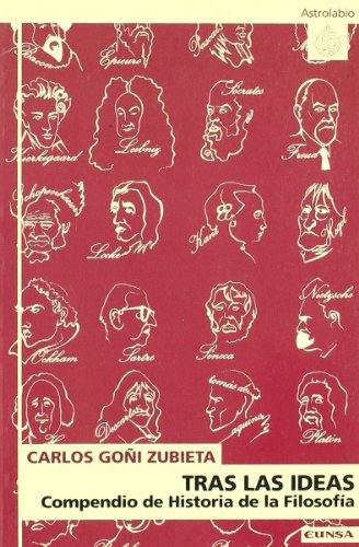 9788431316617: Tras las ideas : compendio de historia de la filosofía