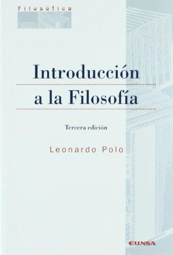 9788431320393: Introducción a la filosofía (Colección filosófica)