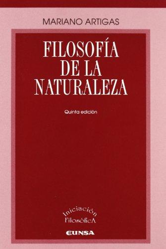 9788431320522: Filosofia De La Naturaleza