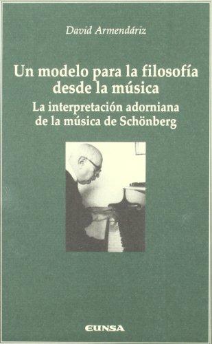 UN MODELO PARA LA FILOSOFIA DESDE LA: ARMENDARIZ, D.
