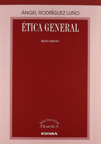 9788431321895: Ética general (Iniciación filosófica)