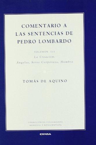 9788431322649: Comentario a Las Sentencias de Pedro Lombardo (Spanish Edition)