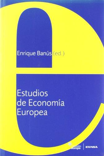 9788431322786: Estudios de economía europea (Colección Europa)