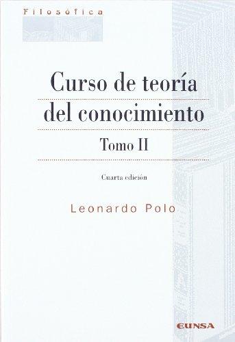 9788431323561: Curso de Teoría del Conocimiento. Tomo II
