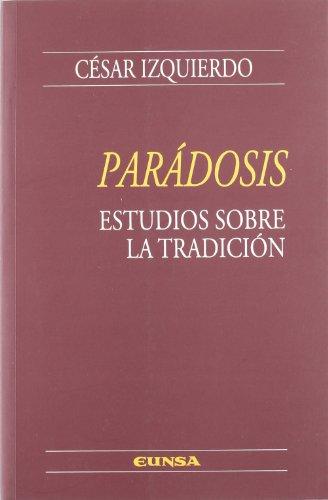 9788431323622: Parádosis: estudios sobre la tradición (Manuales de teología)