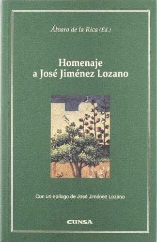 HOMENAJE A JOSÉ JIMÉNEZ LOZANO. ACTAS DEL: UNIVERSIDAD DE NAVARRA.