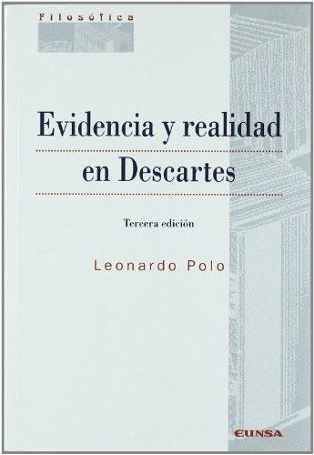9788431324872: Evidencia y realidad en Descartes (Colección filosófica)