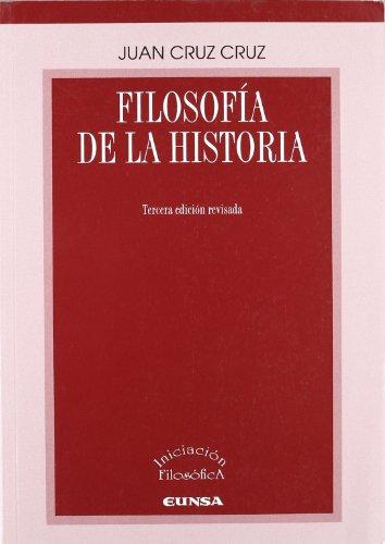 9788431325244: Filosofía de la historia