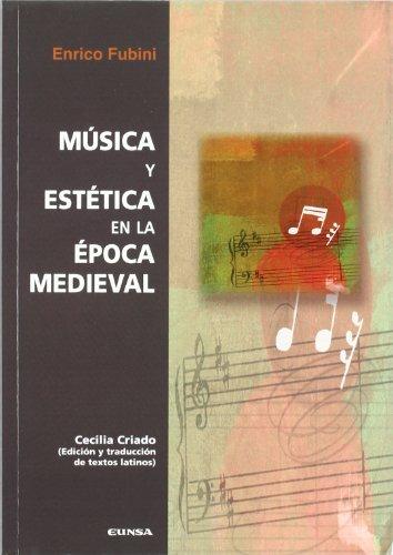 9788431325268: Música y estética en la época medieval