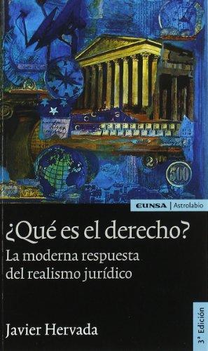 Qué es el derecho?: Javier Hervada