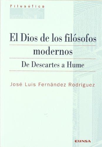 9788431325503: El Dios de los filósofos modernos: de Descartes a Hume (Colección filosófica)