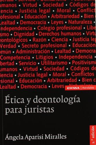 9788431325848: Ética y deontología para juristas (Astrolabio)