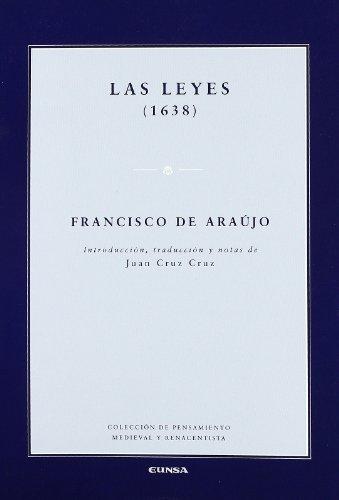 9788431326753: Las leyes (1638) (Pensamiento medieval)
