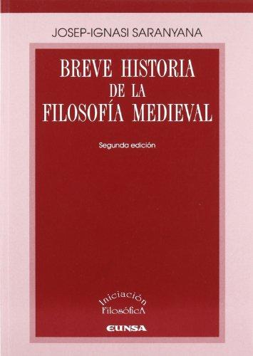 9788431326821: Breve historia de la filosofía medieval