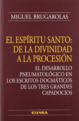 9788431328429: El Espíritu Santo: de la divinidad a la procesión (Colección teológica)