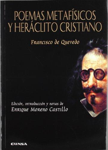 9788431328580: POEMAS METAFISICOS Y HERACLITO CRISTIANO