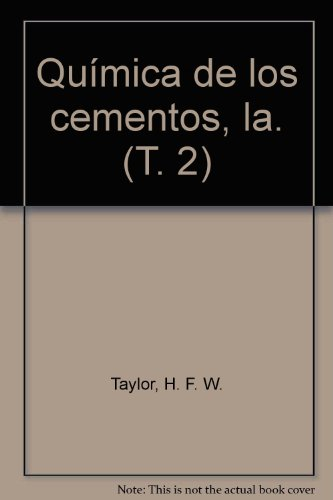 9788431401672: La química de los cementos II