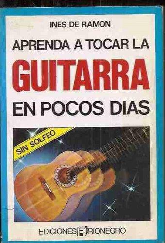 9788431500498: Aprenda a Tocar la Guitarra en Pocos Días