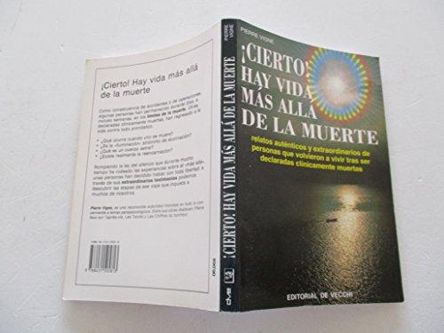 9788431505813: Cierto! Hay Vida Mas Alla de La Muerte (Spanish Edition)