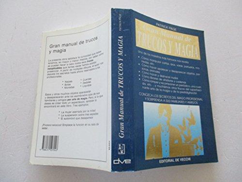 9788431507046: Gran manual de trucos y magia