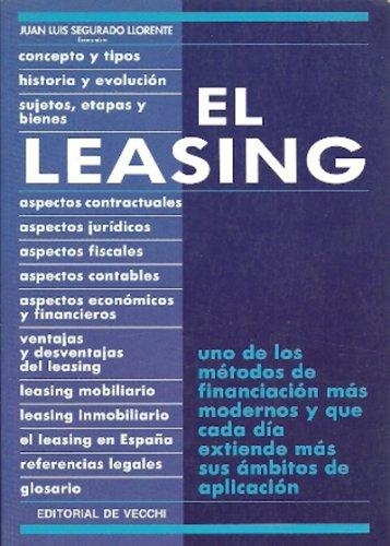 9788431510138: Leasing, el
