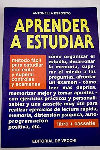 9788431510565: Aprender a estudiar