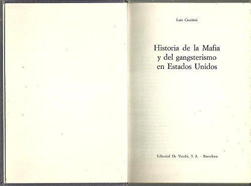 9788431515089: Historia De La Mafia Y Del Gangterismo En Estados Unidos