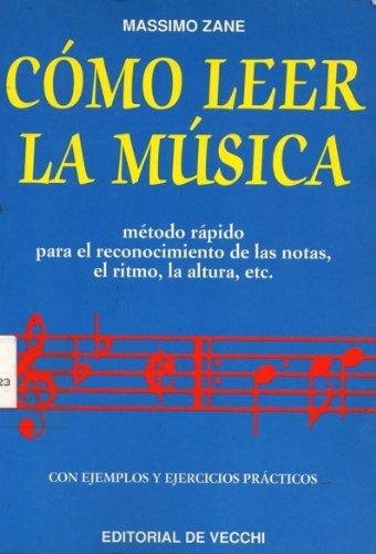 9788431517076: Como Leer La Musica (Spanish Edition)