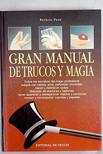 9788431527150: Gran manual de trucos y magia (Humor,Juegos,Pasatiempos)