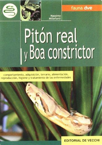 9788431531591: Pitón real y boa constrictor