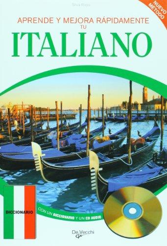 9788431535612: Aprende y mejora rapidamente tu italiano (Incluye CD) (Spanish Edition)