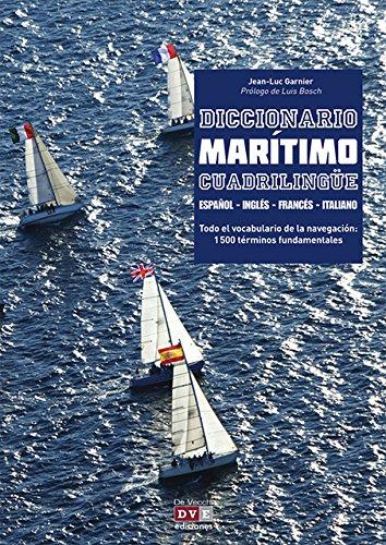 9788431550974: Diccionario Maritimo Cuadrilingue en ingles - espanol - frances - italiano (Spanish Edition)