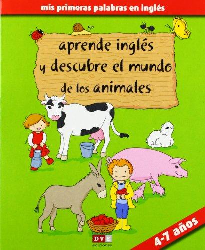9788431554354: Aprende inglés y descubre los animales de la granja (Ingles Para Niños (vecchi))
