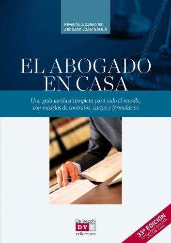 9788431556099: El abogado en casa (Enciclopedia Practica)