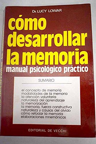9788431599553: Como desarrollar la memoria