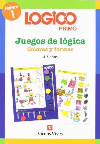 9788431606121: Logico Primo 1 Colores Y Formas - 9788431606121