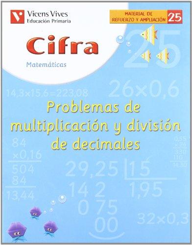 9788431607258: Cifra Cuaderno 25. Matematicas. Refuerzo Y Ampliacion - 9788431607258