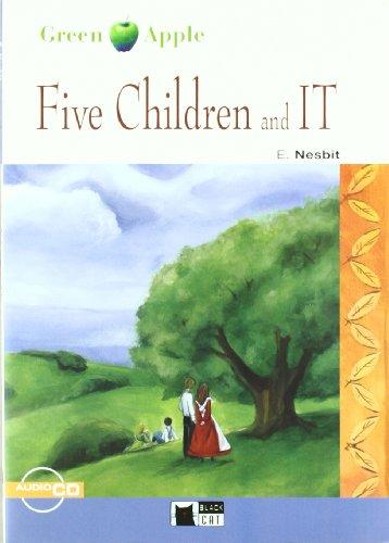 9788431607487: Five Children And It. Book (+CD) (Black Cat. Green Apple)