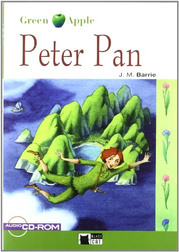 9788431607494: Peter Pan+cd-cdrom N/e (Black Cat. Green Apple)