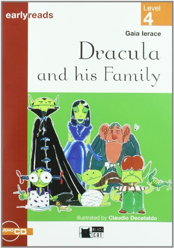 9788431609825: Dracula And His Family. Book (+CD) (Black Cat. Earlyreads)