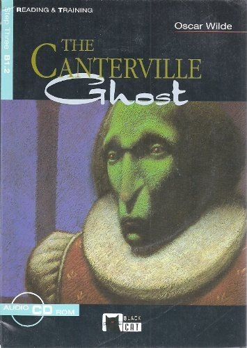 9788431610166: The Canterville Ghost. Book + CD-ROM (Black Cat. reading And Training)