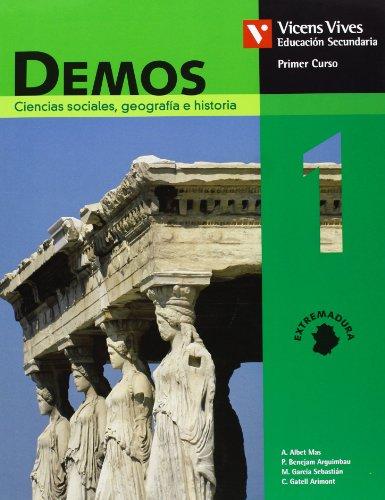 9788431611965: Demos 1 Extremadura.libro Del Alumno.ciencias Sociales - 9788431611965