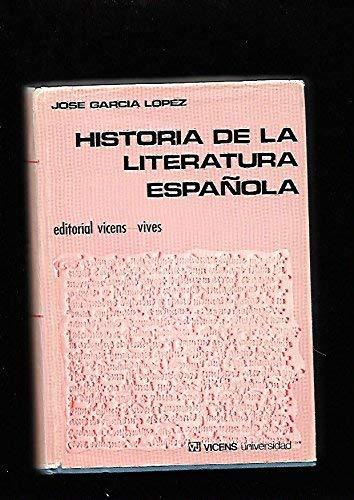 9788431612559: Historia de la literatura española