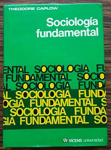 9788431613914: Sociologia fundamental