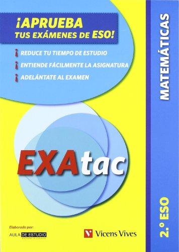 9788431615307: ¡Aprueba tus Exámenes de la ESO! EXAtac. 2 ESO. Matemáticas (Exatac. Castellano)